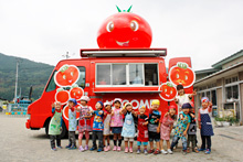 Tomato Kitchen Truck