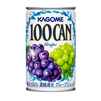100CAN グレープ 160g