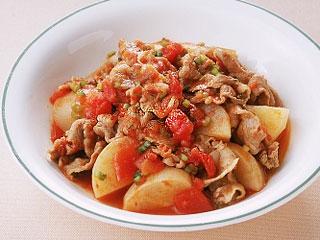 豚肉 トマト 煮込み
