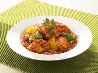 チキン 煮込み トマト