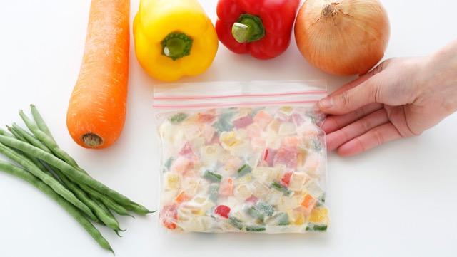 下味をつけて冷凍!ごろごろミックスベジ