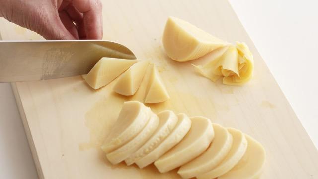 たけのこを調理するときの切り方と保存方法