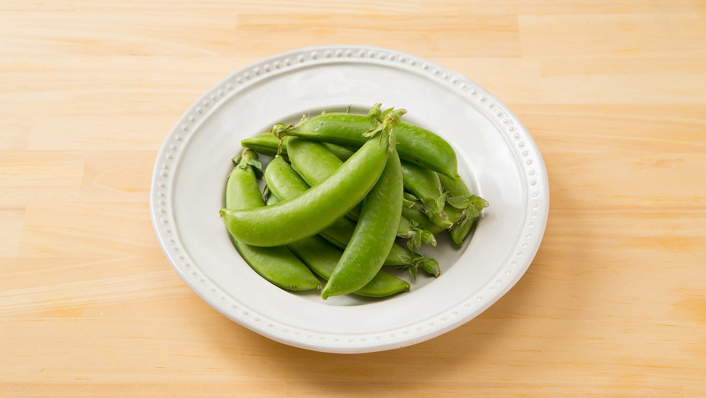 スナップエンドウの栄養素とおいしい茹で方