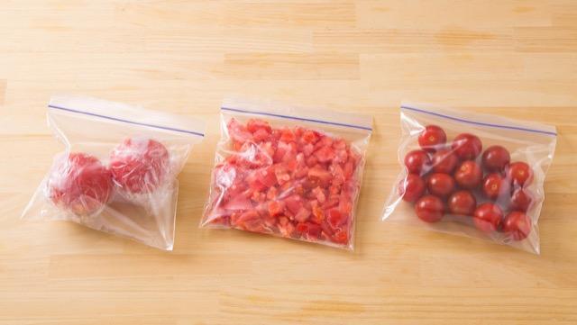 トマトの便利な冷凍方法