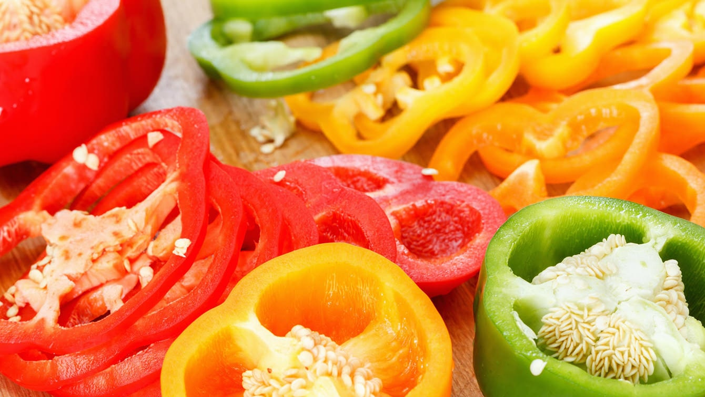 """一种富含维生素和胡萝卜素的""""彩色辣椒"""""""