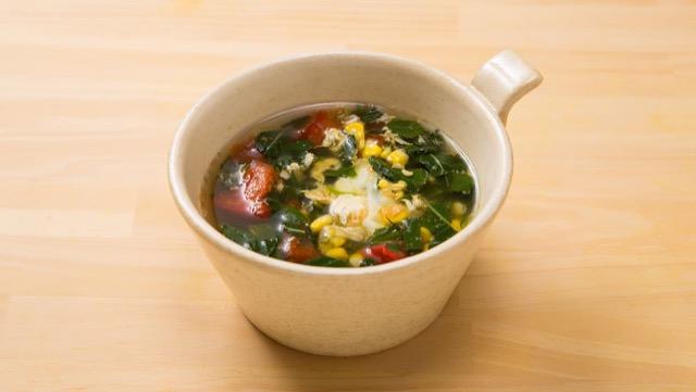 モロヘイヤスープの作り方(2人前)