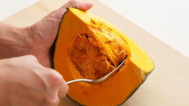 切り 方 かぼちゃ