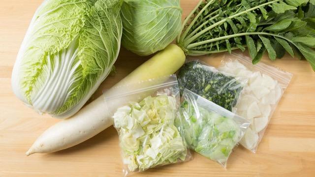 [野菜の冷凍保存]大根、キャベツを丸ごと使いきる保存のコツ