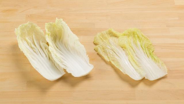 ③[内側の黄色みがかった部分]やわらかく甘みがあり、煮もの向き
