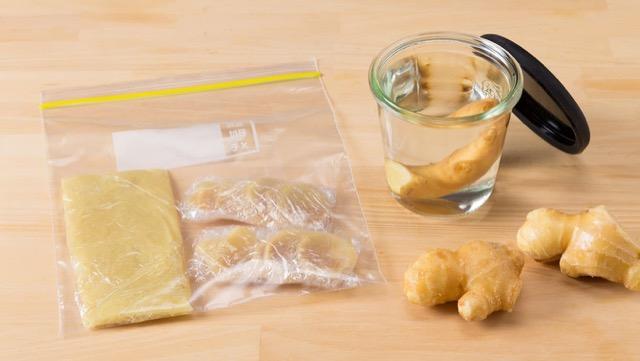 [保鲜姜]超级易保存的方法,以延长新鲜度和口感