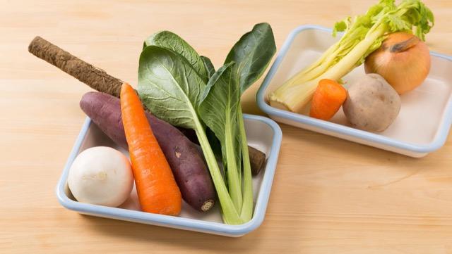 ディップ作りに必要な材料は、メイン野菜・香味野菜・つなぎ野菜・水の4つだけ!