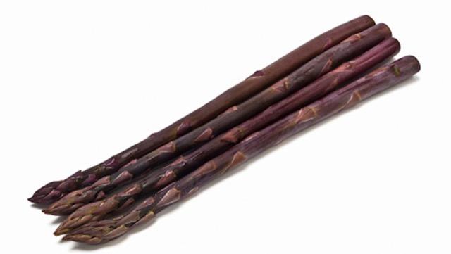 アスパラガスの種類:紫アスパラガス