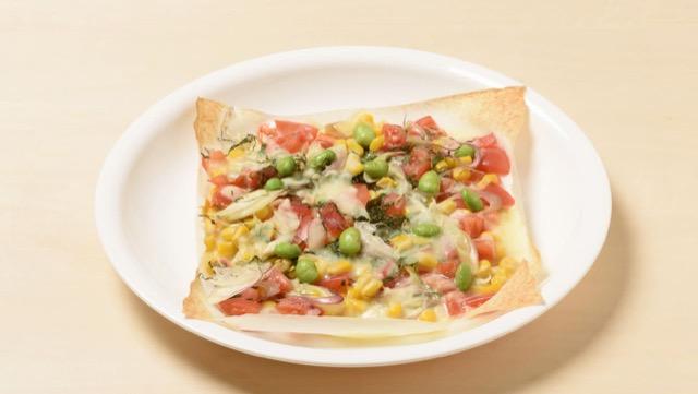 みょうがピザのレシピ