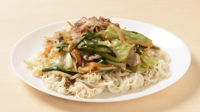 油そうめんの野菜あんかけ風のレシピ