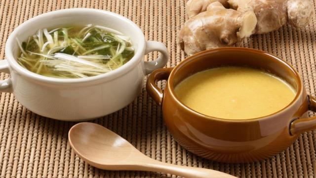 [ショウガの冷製&温製スープレシピ]季節の変わり目にピッタリ