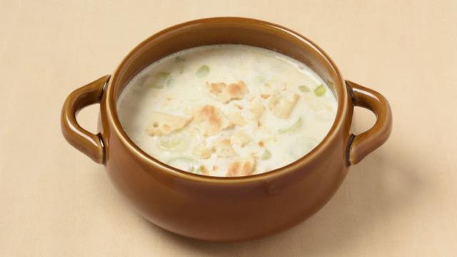 ネギのミルクスープ