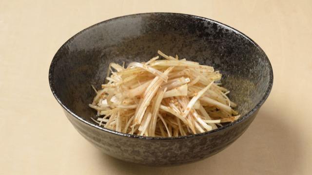 韓国風ネギサラダ