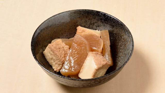 大根と厚揚げの煮物のレシピ