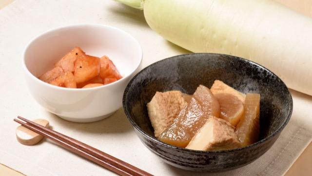 [大根の簡単煮物レシピ2選]王道から変わり種まで煮物を極める