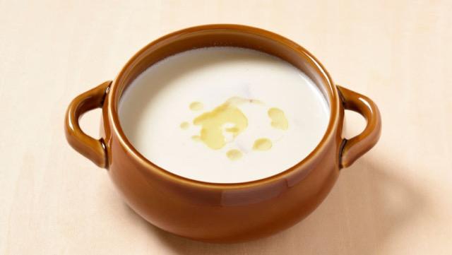カリフラワーとベーコンのクリームスープのレシピ