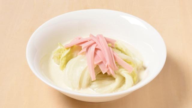 白菜のクリーム煮のレシピ