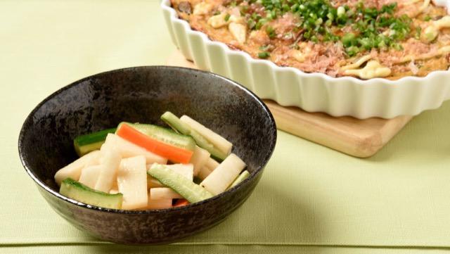 山芋&長芋のチーズ焼き、中華風サラダなど簡単レシピ2選