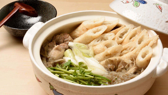 [セリとごぼうのレシピ]野菜のコクで絶品スープ!きりたんぽ鍋