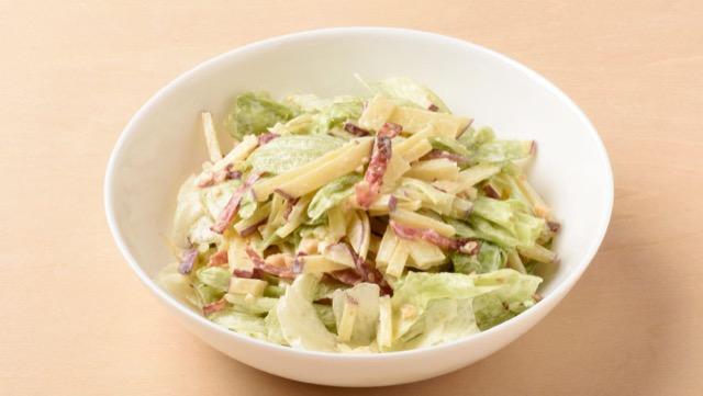 さつまいもとレタスのサラダのレシピ
