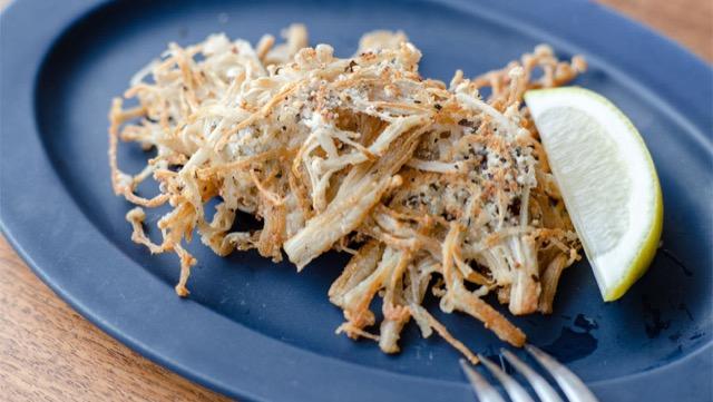 バジルとえのきのカリカリチーズ焼きのレシピ