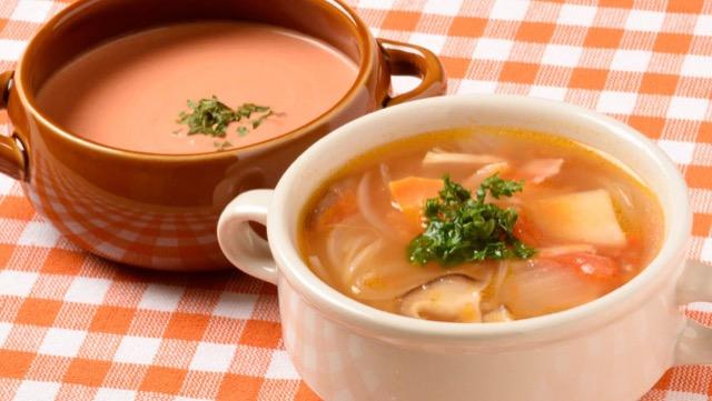 [トマトのスープレシピ]コンソメ&クリームの簡単レシピ2選
