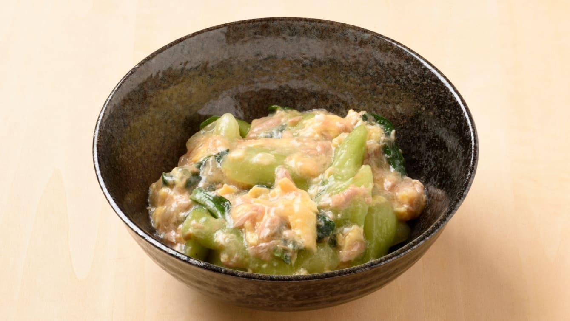 チンゲン菜のツナあんかけのレシピ