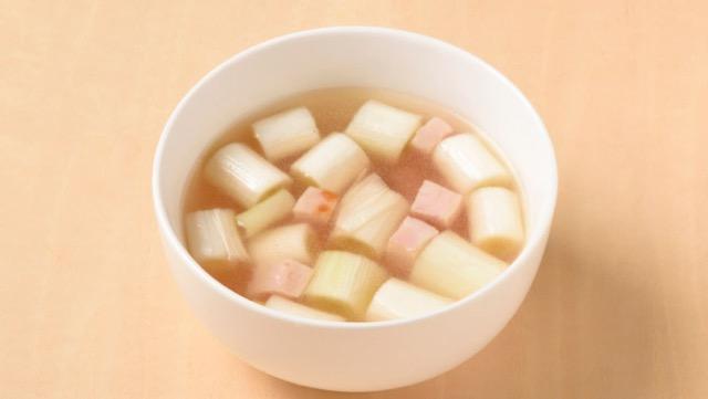鶏がら白ネギスープのレシピ