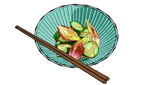 みょうがの中華おつまみのレシピ
