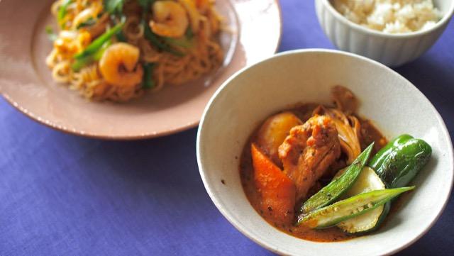 野菜たっぷりスープカレーのレシピと、翌日のリメイクレシピも!