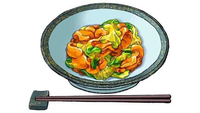レンジ回鍋肉のレシピ