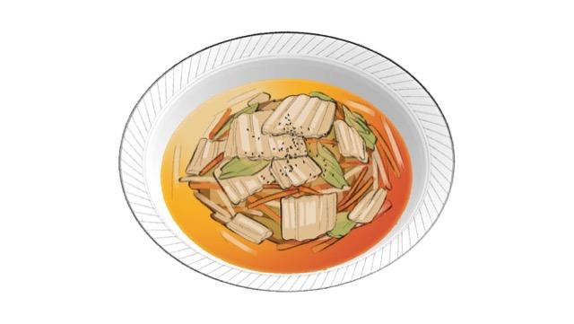 白菜ともやしの中華風レンジ炒めのレシピ
