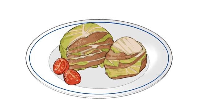 白菜と豚肉のレンジ蒸しのレシピ