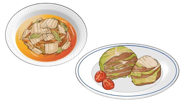 [白菜の簡単レンチンレシピ]丸ごと1玉買っても食べられる2選