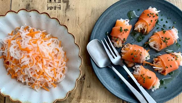 なますのおせち定番レシピ&サーモンの簡単アレンジでおつまみに