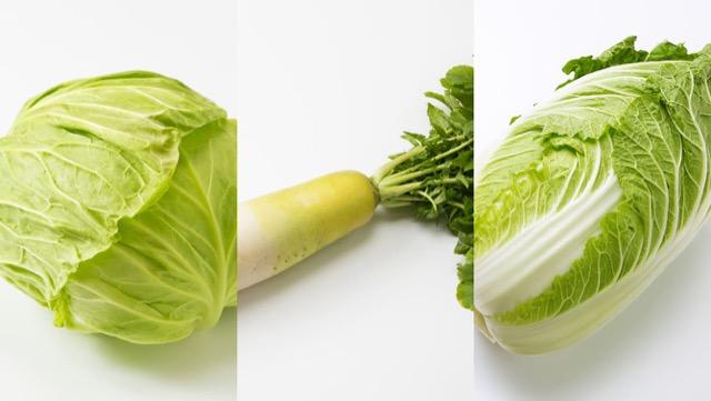 キャベツや大根、白菜など、丸ごとの保存や切り方、レシピまとめ