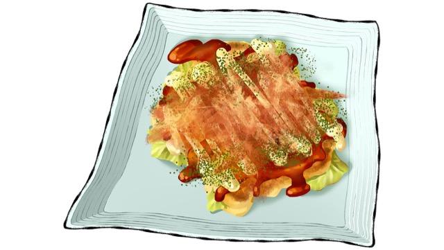 野菜たっぷりお好み焼きのレシピ