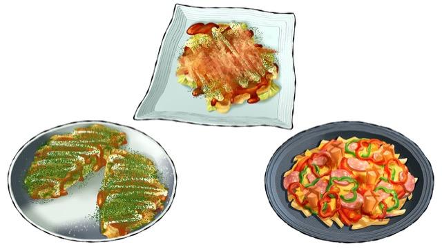 [野菜×ホットプレートレシピ]野菜たっぷりお好み焼き&ピザ!
