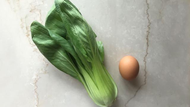 チンゲン菜の卵スープのレシピ