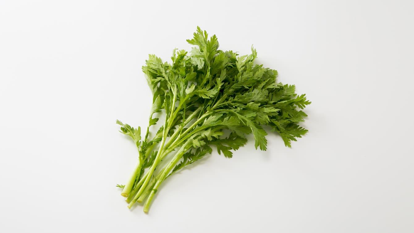 春菊]サラダでも人気の栄養たっぷり緑黄色野菜|カゴメ株式会社