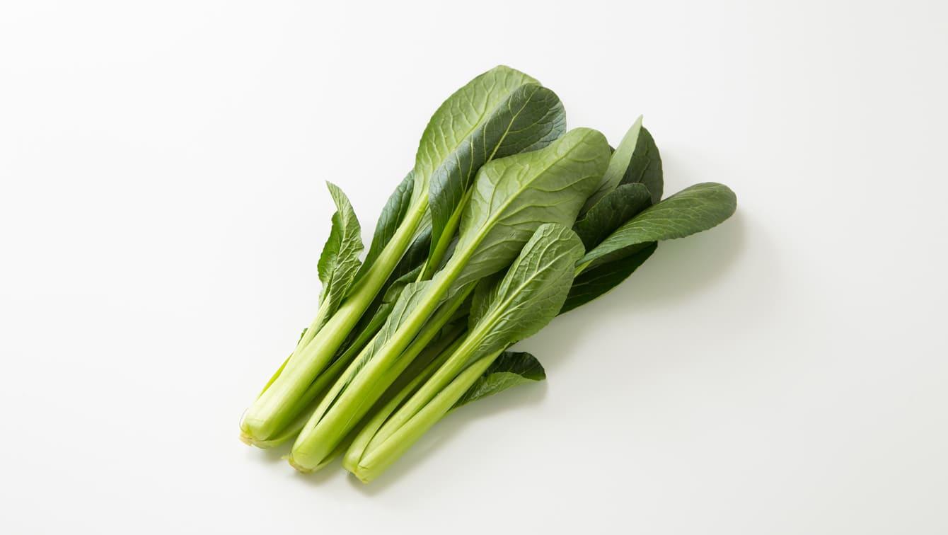 [小松菜]洗い方や茹で方と、みずみずしさを長持ちさせる保存法