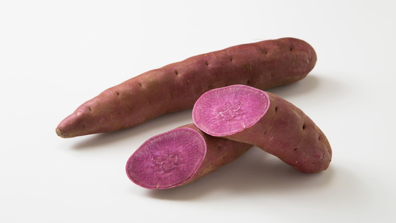 紫いも]含まれる栄養素と、おい...